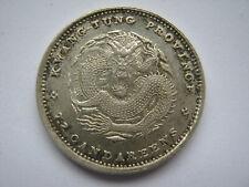 China Kwangtung Province 1890-1908 silver 10 Cents NEF