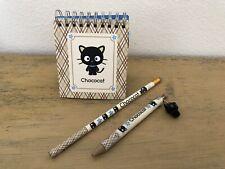 Sanrio Chococat Memo Book Notebook Mini Stickers Pen NOT WORKING Pencil 2000