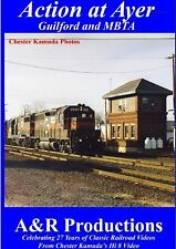 ACTION AT AYER, MA GUILFORD AND MBTA CLASSIC RAILROAD VIDEOS NEW DVD VIDEO