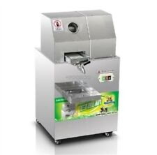 Commercial Automatic Sugar Cane Juicer Electric Juice Extractor New 300Kg/H gl