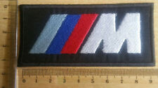 "Beautiful ""BMW LOGO"" Embroidered Sew Iron on cloth badge"