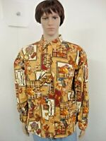 Mens Adirondack Trading Co. Size XL Long Sleeve Button Front Shirt