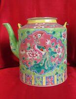 Nyonya – Peranakan – Straits Chinese porcelain Teapot Early 20th century