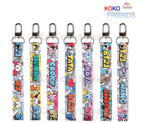 BTS BT21 Official Hand Strap Pop Key Chain Holder KPOP Merch MD Authentic Goods