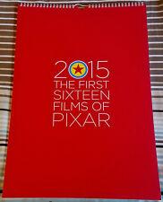 Disney Pixar 2015 The First Sixteen Films of Pixar Wall Calendar