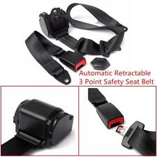 Automatic Retractable 3 Point Safety Seat Belt Lap Seatbelt For Car Truck Pickup