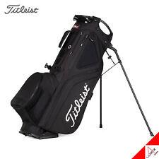 Titleist 2021 Hybrid 5 Golf Stand Bag 9inch 5Way 2.1kg Double Strap-Black