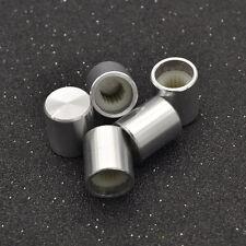 5 Pcs Aluminum Alloy Potentiometer Knob Rotary Switch Volume Control Knob