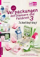 """Anleitungs-Heft EFCO Motiv-STANZER """"Verpackungen mit Stanzern + Falzbrett 3"""" 111"""