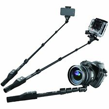 "NEW Pro Selfie Stick, Extend 49"", Bluetooth Remote Shutter, iPhone GoPro Android"