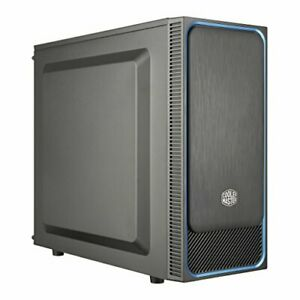 Cooler Master MasterBox E500L Blue Computer Case 'ATX, microATX, Mini-ITX, Blue,