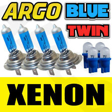4 X H7 499 XENON ICE BLUE 55W BULBS DOUBLE TWIN PACK SET FOG LIGHT NEW & 501 T10