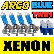 4 X H7 499 Xenon Azul Hielo 55w bombillas Doble Twin Pack Set Luz De Niebla Nuevo Y 501 T10