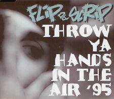 FLIP DA SCRIP - Throw ya hands in the air '95 CDM 3TR 1995 POP RAP / HIP HOUSE