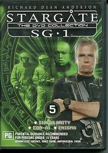DVD - 'STARGATE The Collectors Edition SG.1 DVD 5'  (Region4)