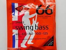 Rotosound SM665 5 string Swing guitare basse acier set roundwound 40-125 gauge