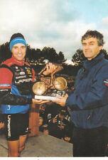 DIJON 13ème cyclo-cross international 1 nov. 2000 vaincqueur Jérome Chiotti vélo