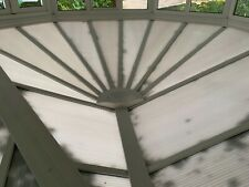 More details for used white upvc conservatory