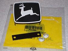 John Deere 210 212 214 216 300 314 317 grill emblem NEW M84353 M81685