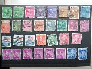 Briefmarken USA gestempelt