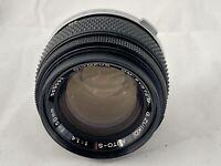 Olympus OM G. Zuiko 50mm F1.4 FAST Prime Lens & Olympus L39  Filter