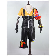 New Arrival Final Fantasy XFF 10 Tidus TIda Anime Cosplay Costume Full Suit