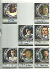 Stargate SG1 Season 4 Colin Cunningham Autograph Card A17 Major Davis