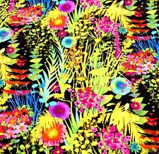 Liberty Belgravia Silk Satin fabric  Summer Tresco