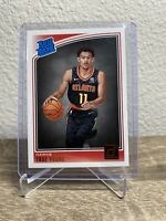 2018-19 Donruss #198 Trae Young Rated Rookie Card Base RC Hawks Superstar