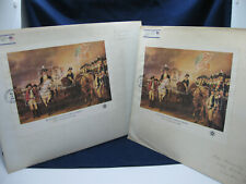 Lot of 2 FIRST DAY COVERS - The Surrender of Lord Cornwallis at Yorktown, #1686