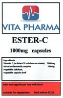 ESTER-C 1000mg 120 capsules IMMUNE SYSTEM HIGH ABSORPTION