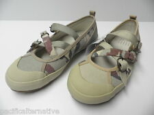 Chaussures plate de ville TBS vert kaki  pour FILLE taille 35 -Modèle d'Expo-