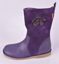 Petasil Filles Carina 4 Violet En Daim & Cuir Fermeture Éclair Bottes UK 12.5 EU 31 RRP £ 65.00