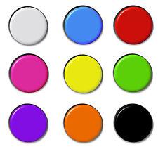 Plain Badges Combined Postage Button Pin Badge Blank Merit Schools School