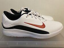 Nike Vapor Spikeless Fitsole Golf Shoes Aq2302-103 White/Black/Red Sz 12