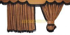 CAMION RIDEAUX pour DAF xf105 xf106 RIDEAUX CROCHET GRATUIT Marron Noir
