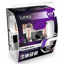 H7 Lunex Plasma Blue 55W 12V Lampadine Fari Alogeni 4200K Set