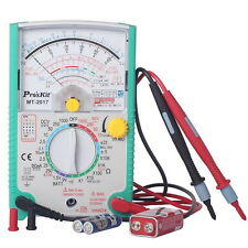 ProsKit (MT-2017) Protective Function Analog Multimeter Null DCV  Capacitance
