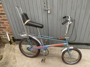 Raleigh Chopper Mk2 Mark 2 Bike Space Blue 1977