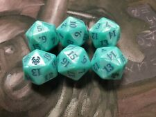 MTG Oversized Dice D20 Spindown Die Theros Beyond Death Bundle Green Large 6x