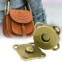 6 sets silver magnetic purse clasp wallet clutch 14mm bag hardware ncwFREEPOSTAU
