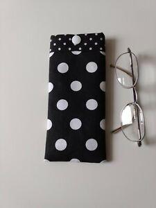 Glasses Case/Pouch. Handmade In Designer Fabric. New. Lovely Gift.