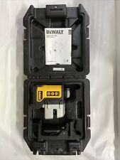 Dewalt Self Leveling 3 Beam Line Laser 50 Range With Case Amp Batteries Dw089k
