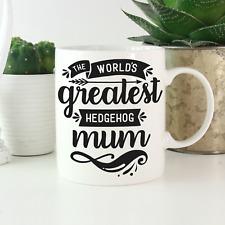 Hedgehog Gifts: Hedgehog Mum Mug: African pygmy hedgehog gift pet hedgehog lover