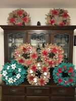 Rustic Eco-Friendly Home Made Wreath Decorations