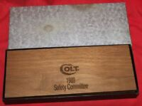 Colt Firearms Factory 1988 Scissor / Letter Opener Set Safety Committee 1989
