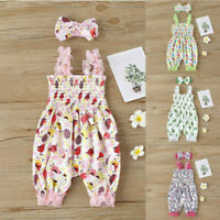 Baby Romper Infant Headband Girl Easter Jumpsuit Newborn Outfit Bodysuit Clothes