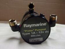 Raymarine Type 1A 12v protor pumpset autopilot pump