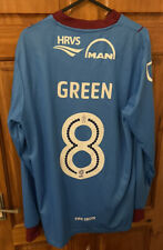 Scunthorpe United Carbrini  2016/17 Home Shirt .Adults Small. #8 Green