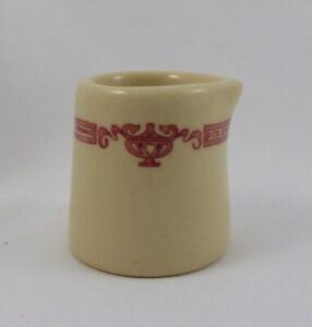 Iroquois China Iro-Tan Restaurant Ware Individual Creamer Art Nouveau 1950's